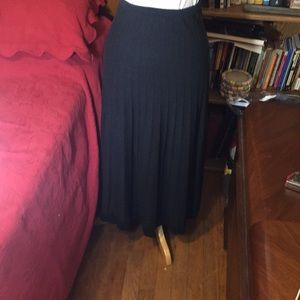 Peruvian Connection 100% Pima Cotton Ribbed Skirt